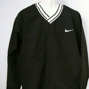 Vtg Nike Black Pullover Mens Size XL